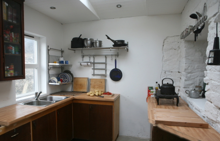 Corner of the kitchen